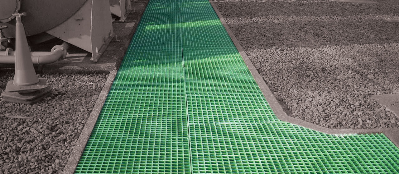 FRP Molded Grating Trench Covers