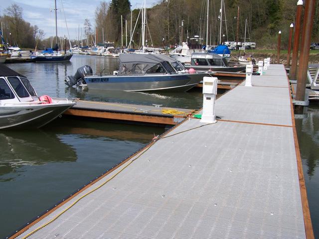 Composite Floating Deck