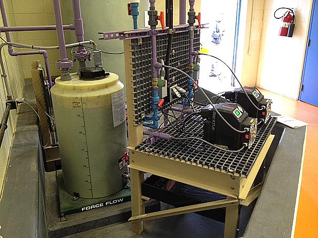 Metering Pump Stands Fibergrate