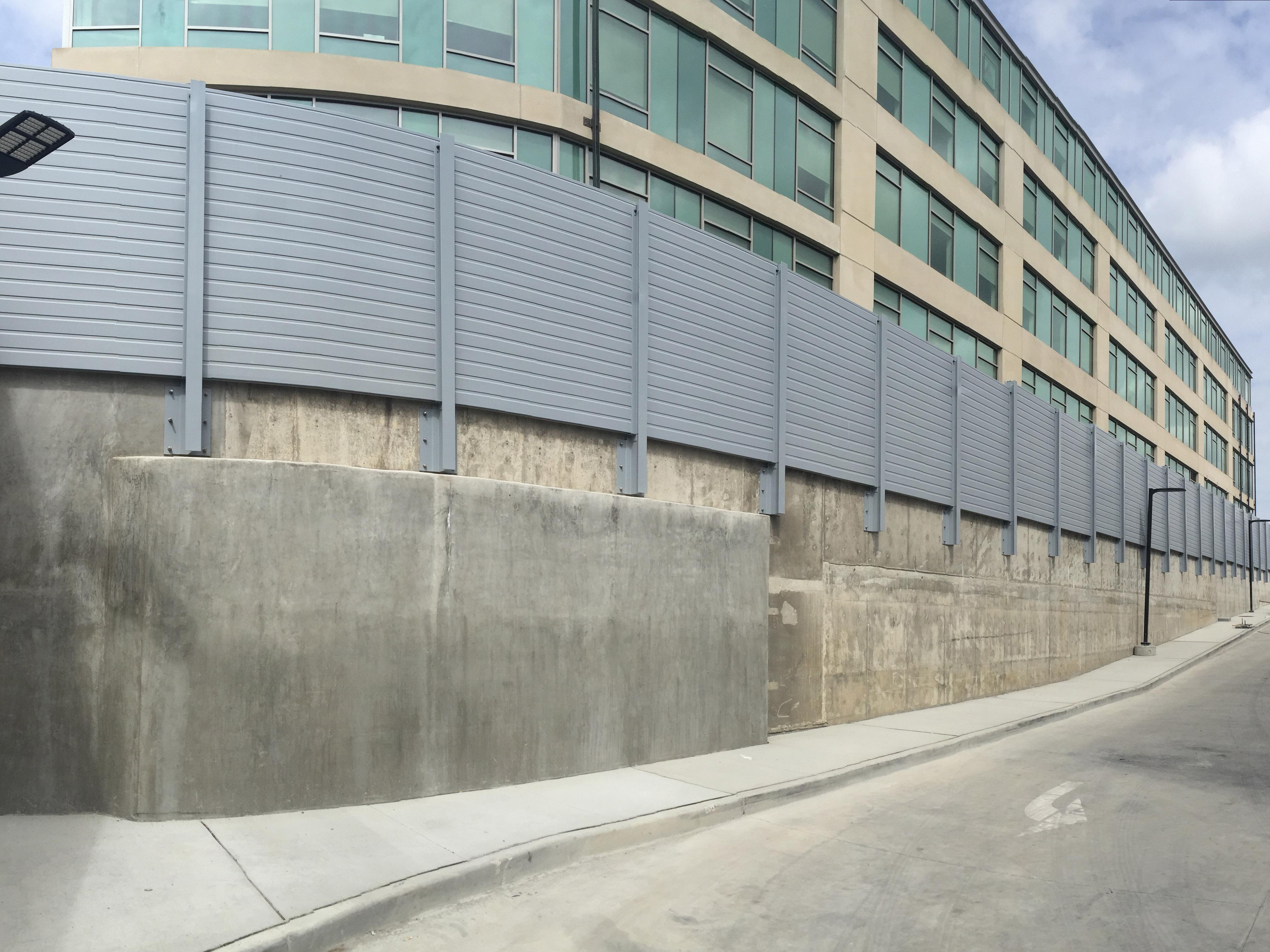 Sound Barrier Walls | Fiberglass Structures | Fibergrate
