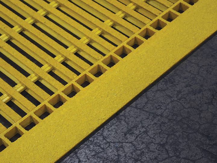 Grating Edge Ramps Fibergrate